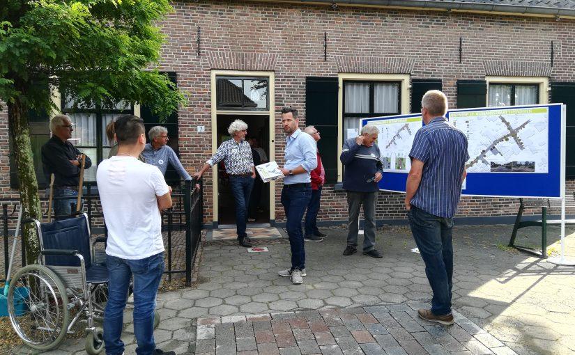 Bewoners Oltmansstraat ontvangen uitwerking Dorpsplan positief